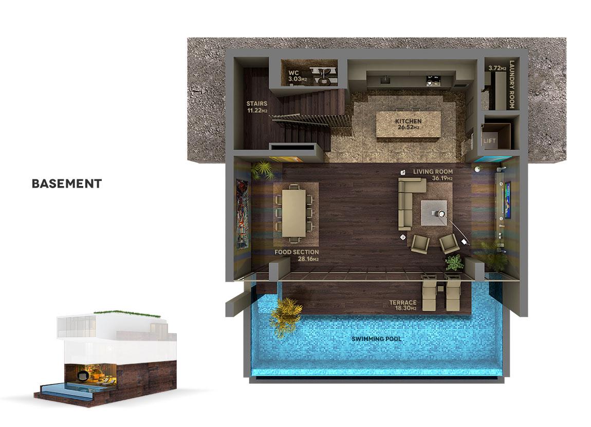 kalkanaltesvillas-basement-plan-all