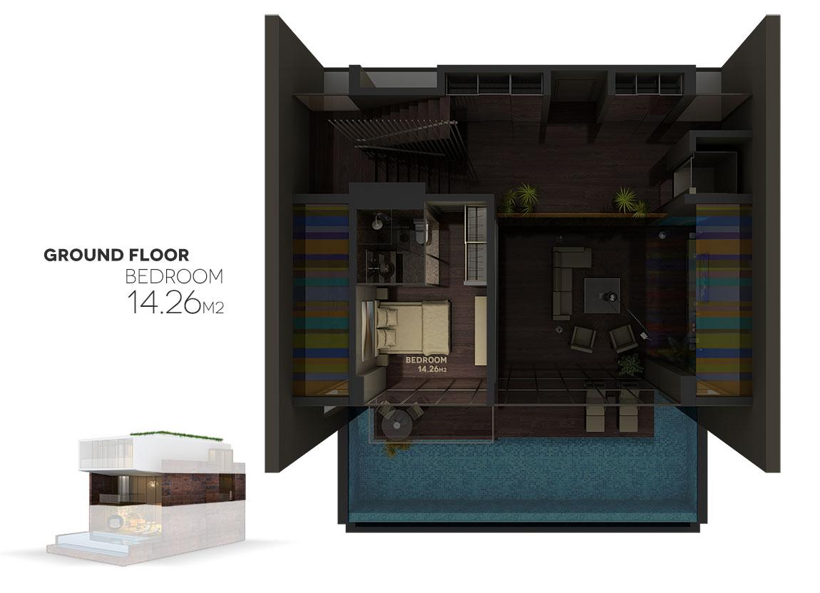 kalkanaltesvillas-groundfloor-plan-bedroom