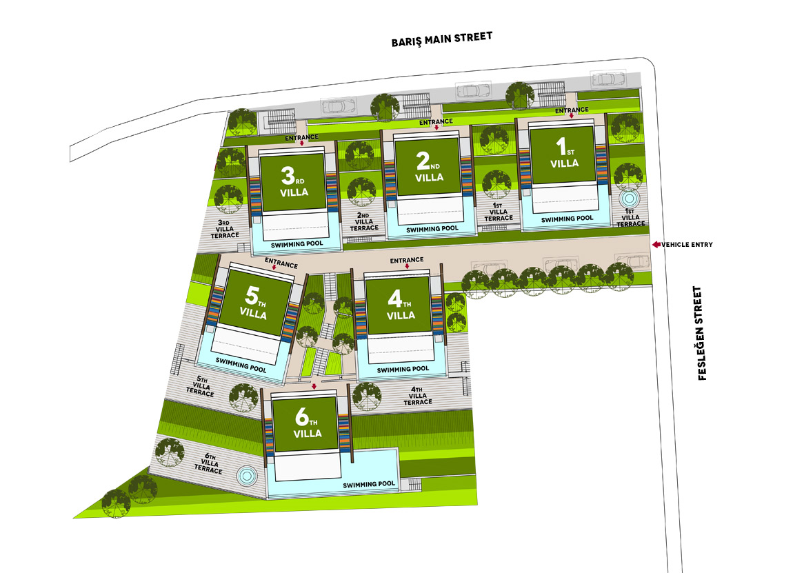 kalkanaltesvillas-site-plan